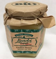 Livada Organic Linden Honey 500g