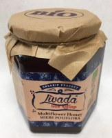 Livada Organic MultiFlower Honey 500g