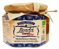 Livada Organic MultiFlower Honey 500g