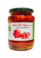 Livada Gogosari Sliced Red Peppers in Vinegar 680g