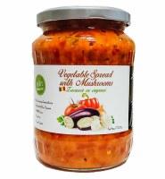 Livada Vegetable Spread with Mushrooms Zacusca cu Ciuperci 700g