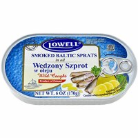 Lowell Baltic Sprats in Oil 170g
