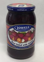 Lowell Beet Salad with Onion 890g