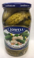 Lowell Dill Pickles with Garlic 870g