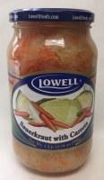 Lowell Sauerkraut with Carrots 900g
