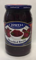 Lowell Shredded Beets 890g