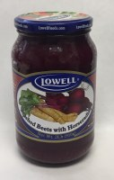 Lowell Mashed Beets with Horseradish 910g