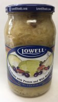Lowell Sauerkraut with Mushrooms and Prunes 890g