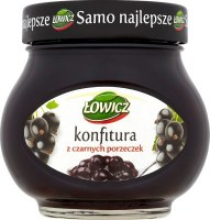Lowicz Blackcurrant Preserves 240g