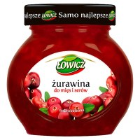 Lowicz Cranberry Preserves 240g