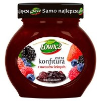 Lowicz Forest Fruit Preserves 240g