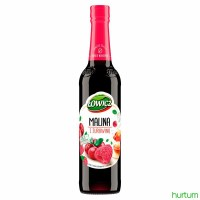 Lowicz Raspberry and Cranberry Syrup 400ml