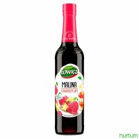 Lowicz Raspberry and Linden Syrup 400ml