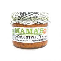 Mama's Homestyle Roasted Pepper and Eggplant Dip Hot 10oz