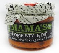 Mama's Homestyle Roasted Pepper and Eggplant Dip Mild 10oz
