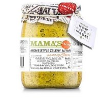 Mamas Green Roasted Pepper Spread Hot 550g