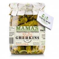 Mama's Gherkins Pickles 19 oz