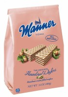 Manner Bite Sized Chocolate Cream Filled Wafers 200g