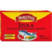 Marco Polo Izola Mackerel Fish Patties With Vegetables 125g