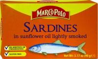 Marco Polo Smoked Sardines 90g