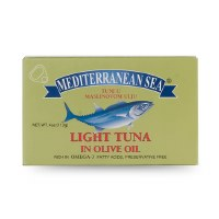 Mediterranean Sea Light Tuna in Olive Oil 113g