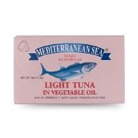 Mediterranean Sea Light Tuna in Vegetable Oil 113g