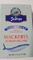 Mediterranean Sea Mackerel Fillet in Vegetable Oil 113g