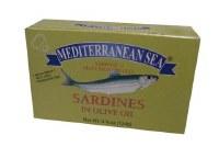 Mediterranean Sea Sardines in Olive Oil 124g