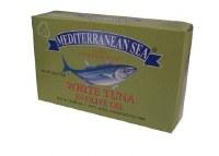 Mediterranean Sea White Tuna in Olive Oil 113g