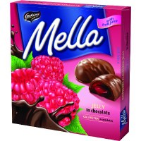 Goplana Mella Raspberry Chocolate Jellies 190g