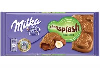 Milka ChocoSplash Hazelnut Chocolate 90g