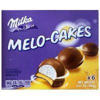 Milka Melo Chocolate Covered Biscuit Cakes 100g