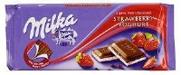 Milka Strawberry Yogurt Chocolate 100g