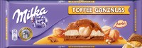 Milka Toffee Whole Hazelnut Chocolate 300g
