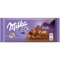 Milka Triple Kakao Chocolate 90g