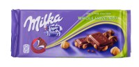 Milka Chocolate with Whole Hazelnuts 100g