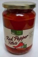 Natural Farmer Red Pepper Fillets 720ml