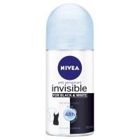 Nivea Roll On Deodorant Black and White Pure 50ml