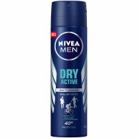 Nivea Dry Active Mens Deodorant Spray 150ml