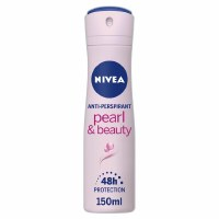 Nivea Pearl and Beauty Womens Deodorant Spray 150ml