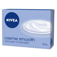 Nivea Creme Smooth Soap Bar 100g