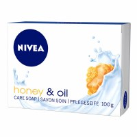 Nivea Honey and Oil Soap Bar 100g