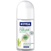 Nivea Roll On Deodorant Pure & Natural Women Jasmine