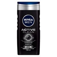 Nivea Active Clean Charcoal Shower Gel 250ml