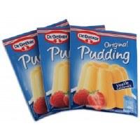 Dr. Oetker Vanilla Pudding 3 pack (3x43g)