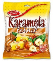 Pionir Karamela with Hazelnut Toffee Candy 100g.