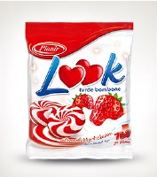 Pionir Look Strawberry Hard Candy 90g