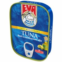 Eva Tuna Fillets in Olive Oil 115g