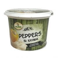 Poljorad Peppers in Kajmak Cream Cheese Spread 500g F