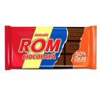Kandia ROM Romanian Rum Chocolate Bar 50 Percent Cocoa 88g